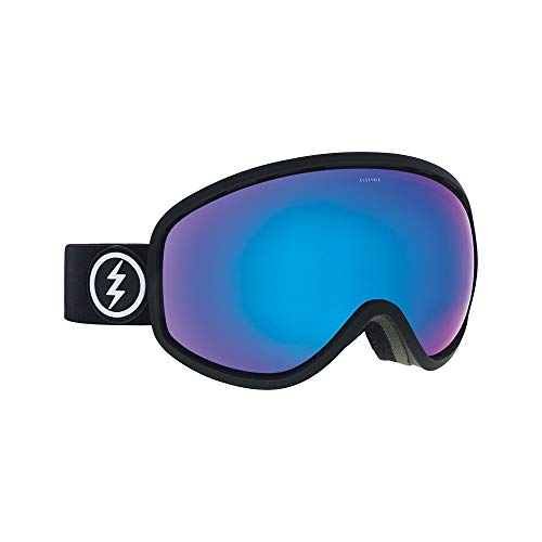 Masher Chrome (Electric Masher Ski Goggles, Matte Black/Brose/Blue Chrome)