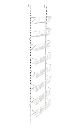 ClosetMaid Adjustable 8-Tier Wall and Door Basket Organizer,