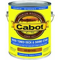 Cabot Stains 3004 Wood Toned Deck & Siding Stain Oil Formula Oxide, 1 gallon