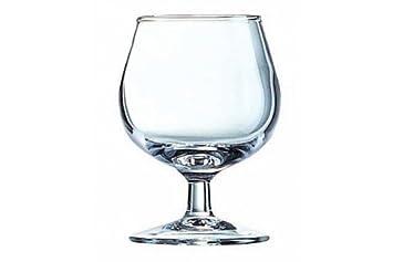 Lote de 12 vasos 25 cl copas para degustación coñac/Brandy la ...