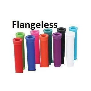 ODI LONGNECK GRIPS Flangeless For BMX and Scooters BLUE by Odi