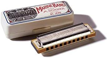 Key of C Hohner Marine Band 1896 Classic Harmonica