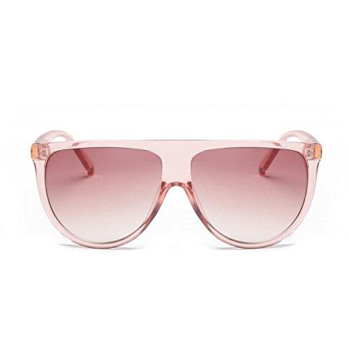 Forme las a gafas finos la vendimia lente vidrios sombreados los a aviador Tefamore Forme Rojo unisex sol de de q1Yn5Z5P6