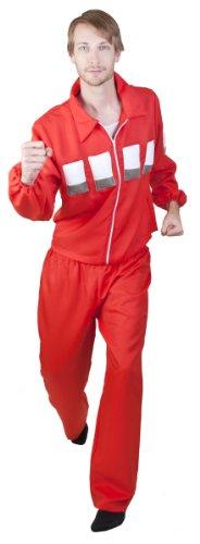 Six Million Dollar Man Costume (Size: Standard 44)