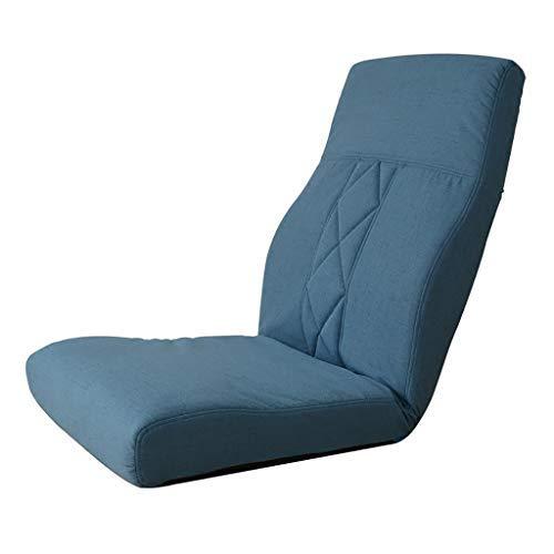 床の怠惰なソファーの床の椅子Back賭博の椅子として使用のための背部サポートの怠惰なソファーの椅子、51 * 59 * 72 cm B07STYFWN8