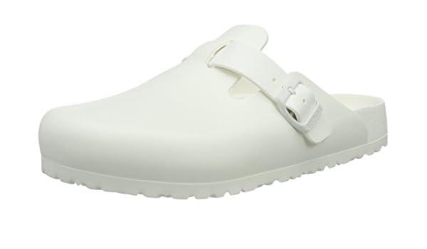 a333e6c4b3d Birkenstock Boston EVA - White 1002315 (Man-Made) Mens Shoes 42 EU   Amazon.com.au  Fashion