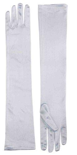 Forum Novelties Formal Opera Evening Long Gloves - White