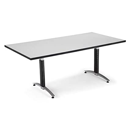 Amazoncom OFM KTMBGRYNB Mesh Base Conference Table X - 72 x 36 conference table
