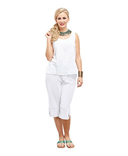 Oh My Gauze Women's Beth Pant L/XL (12-14) Snow