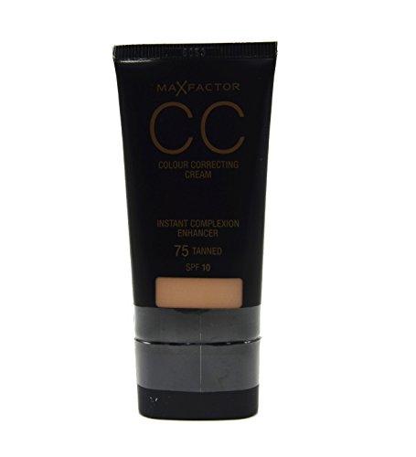 2 x Max Factor CC Colour Correcting Cream SPF10 30ml Sealed - 75 Tanned