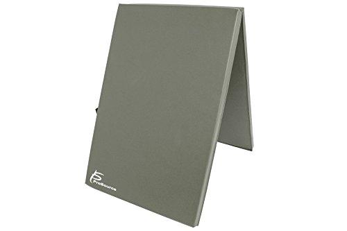 ProsourceFit Bi-Fold Folding Thick Exercise Mat 6'x2' wi