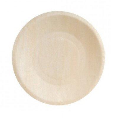Restaurantware Wood Round Plate 7.5 inch 200 count box