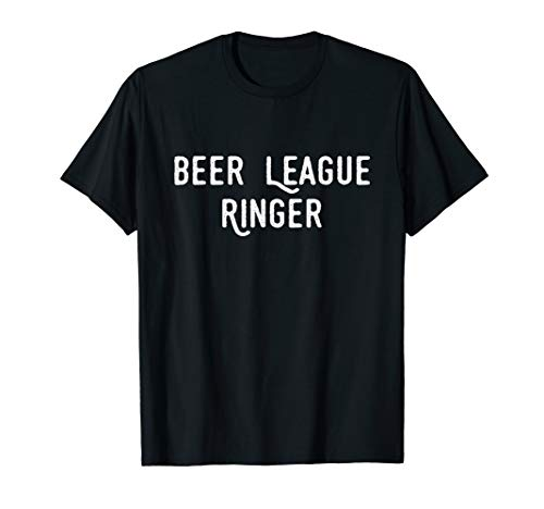 Beer League Ringer Hockey T-shirt ()