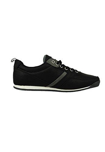 Levis Formadores Capistrano raya regular Negro Negro - 224651-794-59, Levi´s Schuhe Herren:45