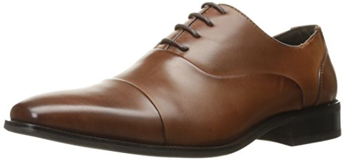 Kenneth Cole Unlisted Men's Stun-Ner Oxford, Cognac, 9.5 M (Unlisted Mens Oxford)