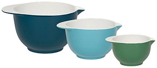 Now Designs Stoneware Batter Bowls (Set of 3), Blue