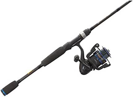 Lew's Fishing American Heroes Speed Spool Spinning Rod and Reel Combo, 6' 6