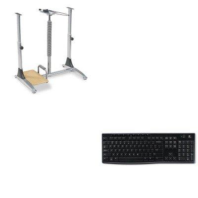 KITBLT82493LOG920003051 - Value Kit - Balt Ergo Sit/Stand Workstation (BLT82493) and LOGITECH, INC. K270 Wireless Keyboard (LOG920003051)