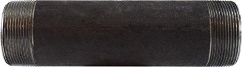Midland 59-167SMLS Extra Heavy Black Steel Pipe Nipple 2 Diameter 2 OD Steel 2 Diameter 5-1//2 Length 2 OD Midland Metal 5-1//2 Length SCH 80 Seamless