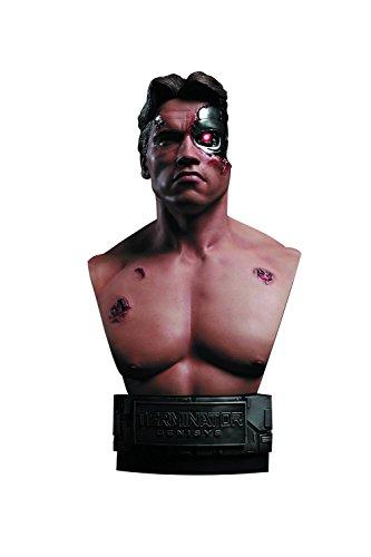 Terminator Genisys Battle Damaged T-800 1/2 Scale Bust Battle Scale Figures
