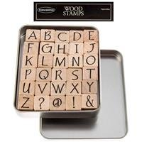 Upper Case Party Ink Alphabet Rubber Stamp SetNew by: CC by CraftyCrocodile