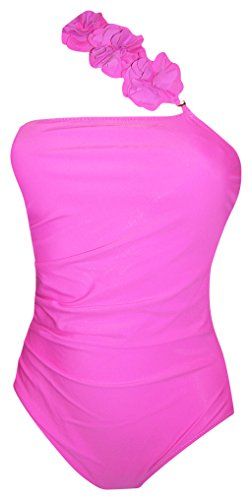 Womens Swimbay One Piece Single Shoulder - Hot Pink One Piece Shopping Results