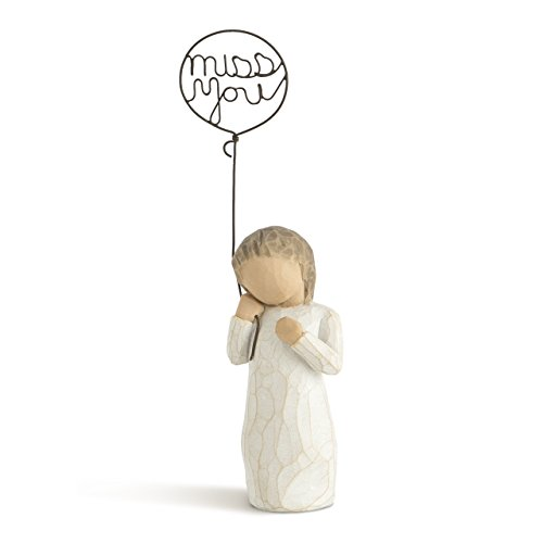 Willow Tree Miss You, sculpted hand-painted figure -