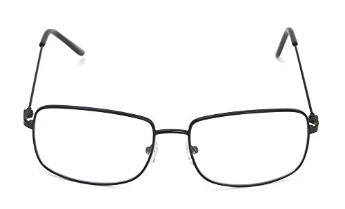 The One Who Knocks Clear Rectangle Aviator Lens Glasses, - White Glasses Walter
