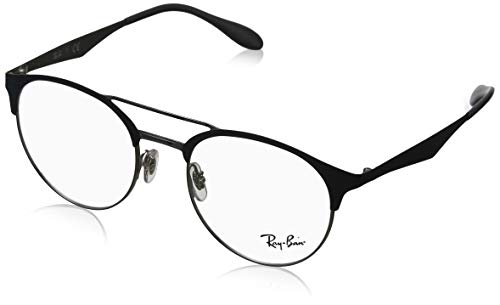 Ray-Ban Men's 51 mm 0RX3545V Silver On Top Grey One Size