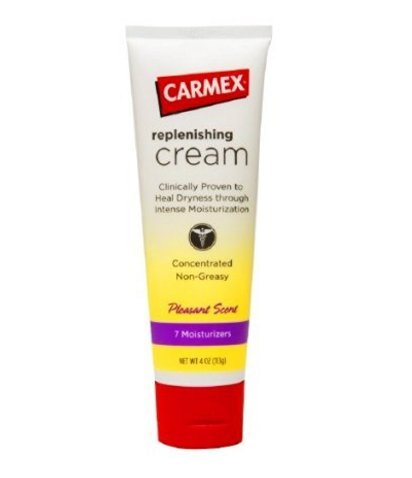 Carmex Replenishing Cream, Pleasant Scent 4 oz (3 Pack) by Carmex