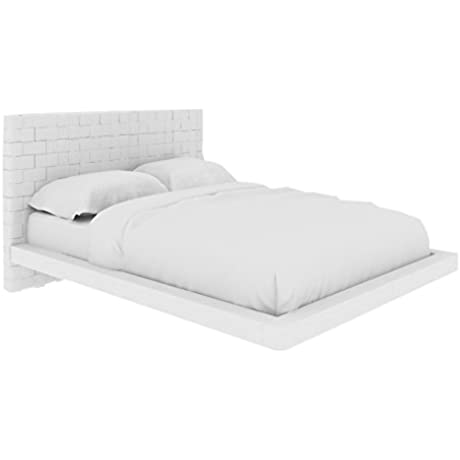 Casabianca Furniture Zack Collection Bed Queen White