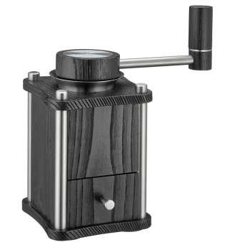 Zassenhaus Lubeck - Manual Coffee Mill - Holds Approximately 20g of Coffee Beans - Stainless Steel - Black by Zassenhaus