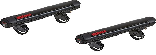 (Yakima - FatCat EVO 4 EVO, Rooftop Ski and Snowboard Mount, Black)