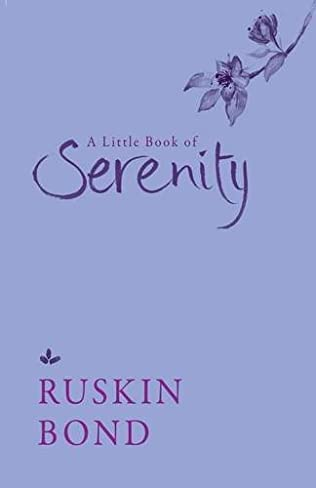 book cover of A Little Book of Serenity