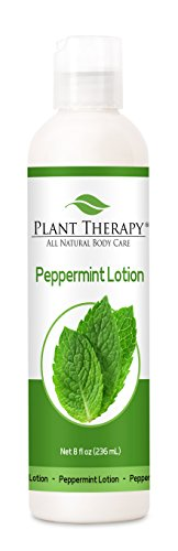 (Plant Therapy Peppermint Lotion 8 oz, Made with 100% Pure Essential Oils)