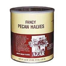 Pecan Halves Fancy Raw -- 6 Case 2.75 Pound by Azar Nut Company