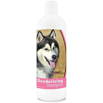 Healthy Breeds Deodorizing Dog Shampoo for Siberian Husky  - Over 200 Breeds - Hypoallergenic Formula - For Itchy, Sensitive, Dry, Flaking, Scaling Skin and Coat - 16 oz