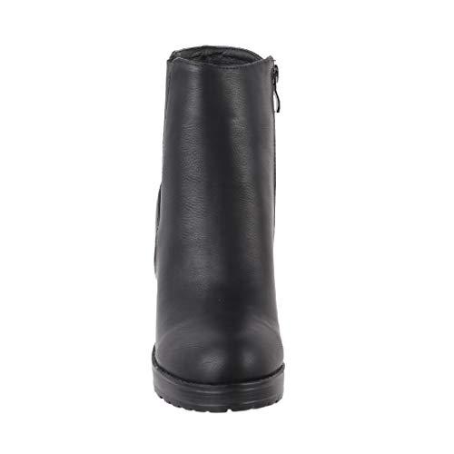 8 Boots Cm absatz Botines Block Elara Ankle Ca Tacón Plateau Black Mujer 9 Chunkyr Ayan Moderna Zw5wqP6