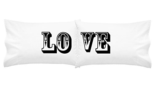 Oh, Susannah Love Wedding Gift Couples Pillowcase Set (Two 20x30