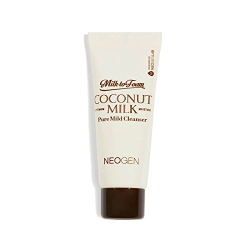 Milk-to-Foam Coconut Milk Pure Mild Cleanser 25ml/.84oz travel size