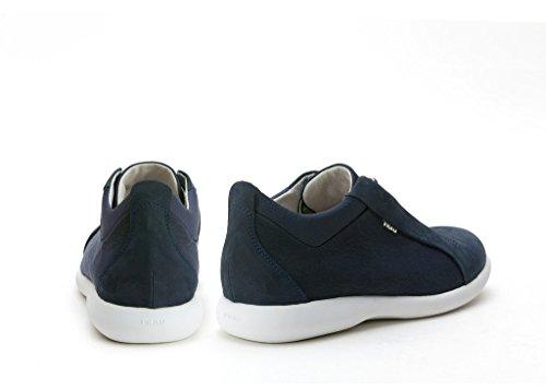 FRAU - Zapatos de cordones de Lona para hombre azul turquesa azul Size: 44 EU AwGZQbNf