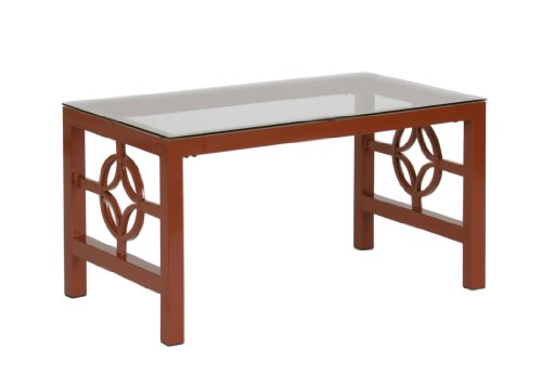 Modern Medallion Metal Living Room Table- Cocktail Table (Coffee Table) / End Table For Sale