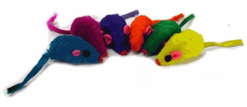 Rainbow Furry Mouse, My Pet Supplies