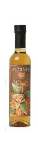 L'Olivier Walnut Oil, 8.3-Ounce Bottles (Pack of 2)
