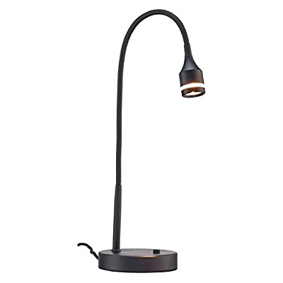 Adesso Prospect LED Clip Lamp- Black