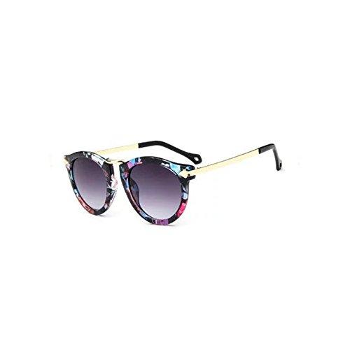 Garrelett Retro Classic Metal Arrow Sunglasses Reflective Sun Eyewear Eyeglasses Vintage Fancy Frame for Girls - Where Oakley Sunglasses To Buy