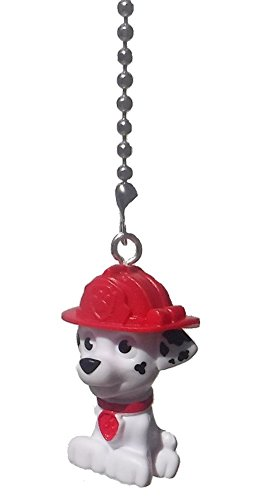 Price comparison product image Paw Patrol Puppy Dog Ceiling Fan Pull (White Dalmation MARSHALL)