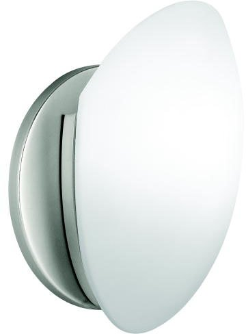 (Kichler 6520NI Wall Sconce 1-Light, Brushed Nickel)