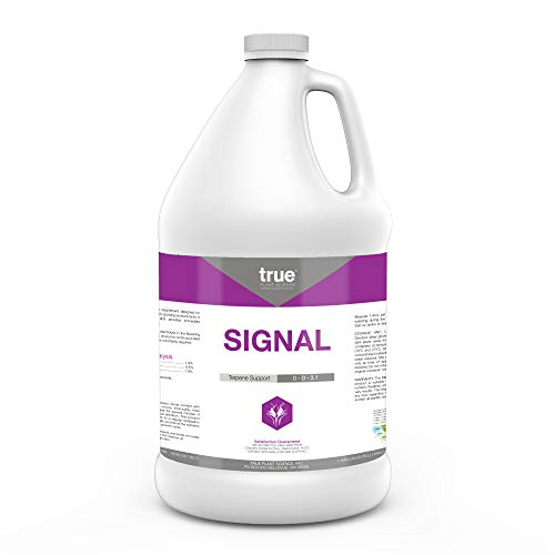 True Signal Terpene Enhancer Plant Nutrient Supplement, Flower Hardener and Increases Flavor Gallon (128 oz)