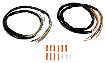 V-Factor 12048 Black Handlebar Extended Wiring Kit for Big Twin and Sportster